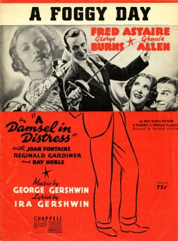 Fred Astaire, A Damsel in Distress, Film soundtracks,George Gershwin, Ira Gershwin