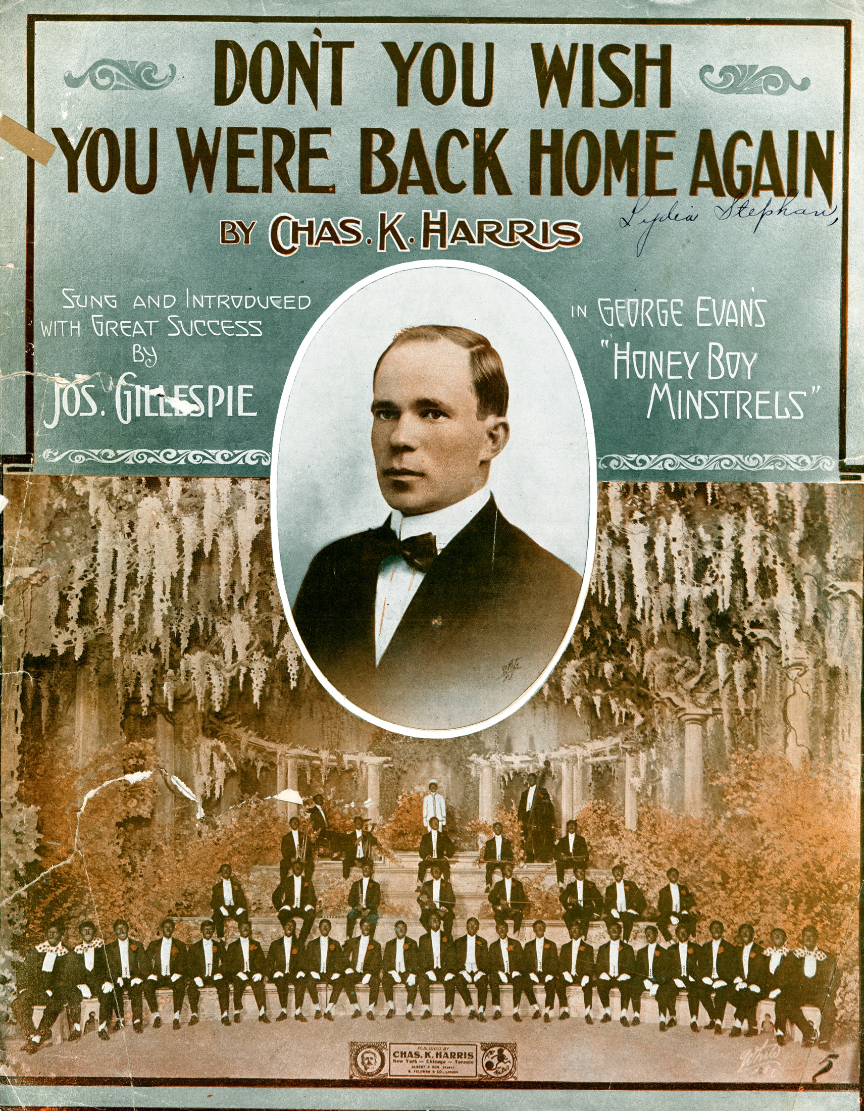 Dont You Wish You Were Back Home Again The American Vaudeville